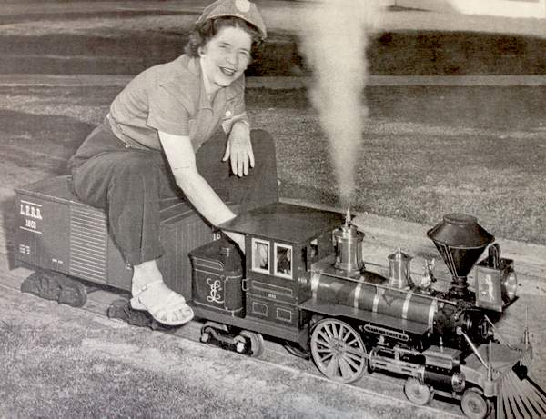 Irene Lewis and Little Engines