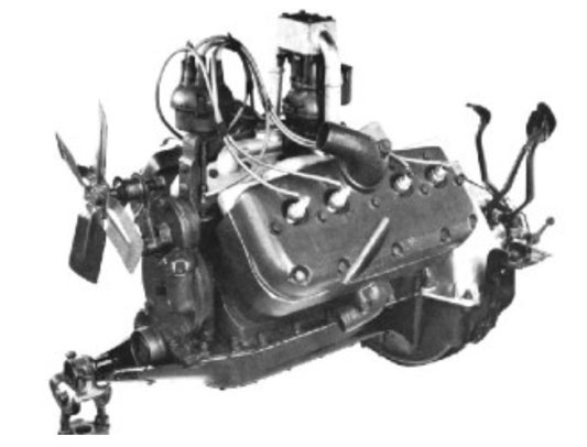 Gentry-Lewis V8 Engine