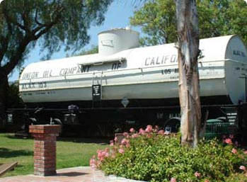 Exhibits at the Lomita Railroad Museum
