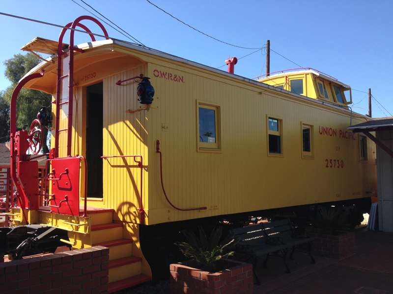 1910 Union Pacific Caboose