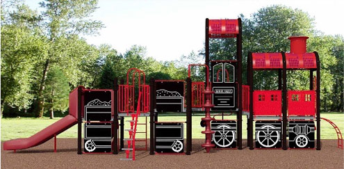 Playground Equipment for Irene Lewis Park