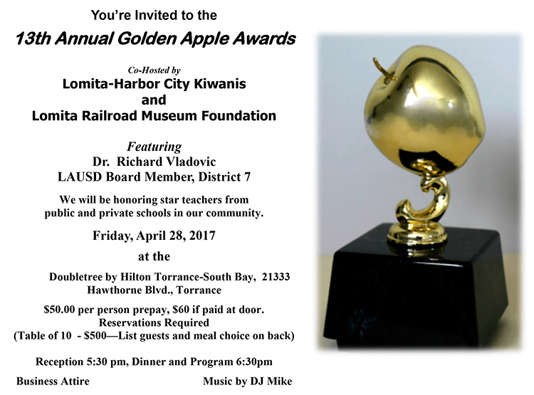 2017 Golden Apple Awards